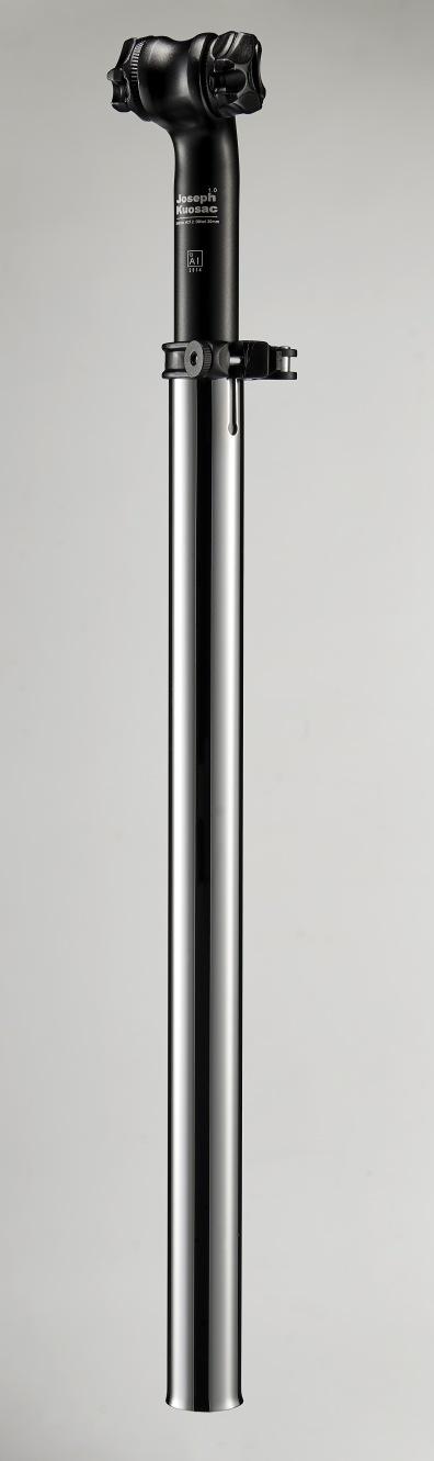 Telescopic seatpost_silver
